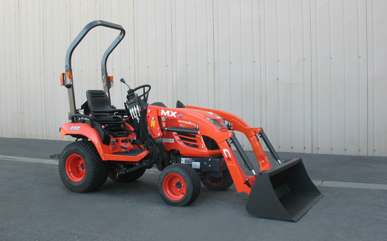 kubota bx2350 tractor mx compact c1 loader. Black Bedroom Furniture Sets. Home Design Ideas