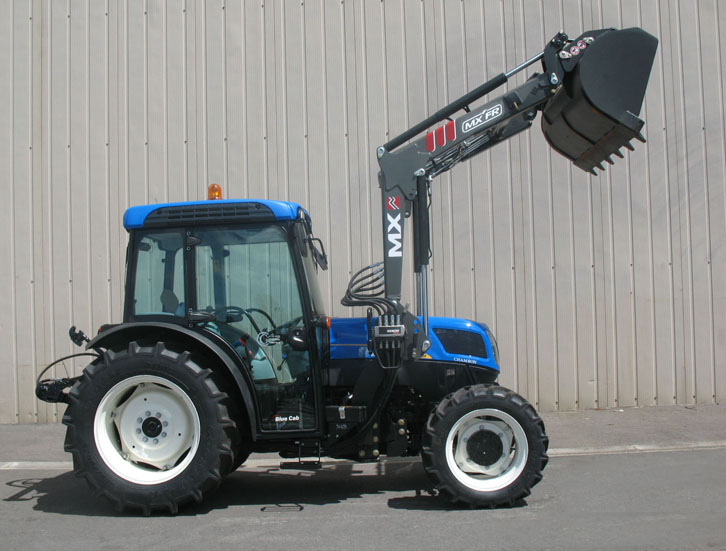 Tracteur New Holland 4030F / Chargeur MX Fruitier FR
