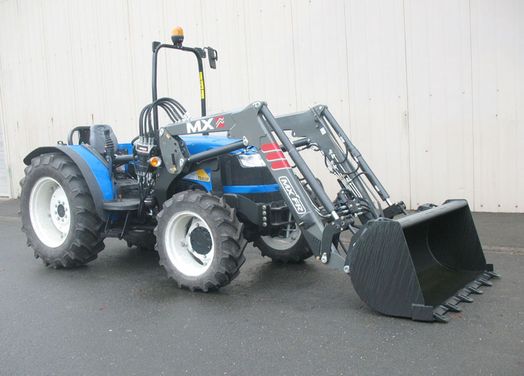 Tracteur New Holland TD4030F / Chargeur MX Fruitier FR