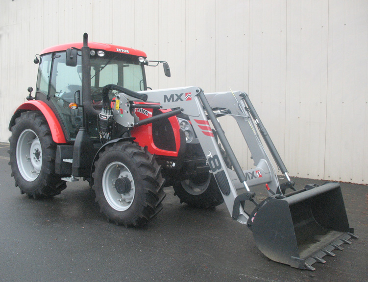 Zetor Proxima DT 95 Power tractor / MX TECHNIC T8 loader