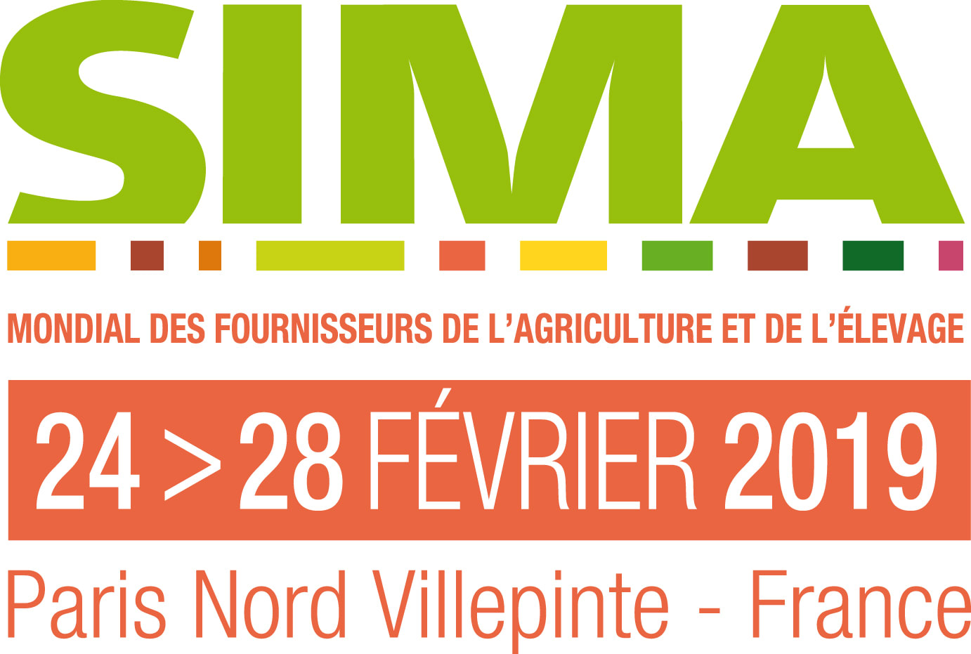 SIMA 2019 from 24th to 28th of february 2019